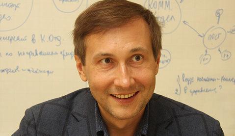 Режиссер Николай Лебедев посетил киностудию